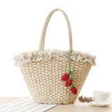 Sacchetto Handmade di vendita caldo della paglia della borsa della fragola