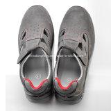 De Schoenen van de Veiligheid van het Merk van Safetoe, Schoenen l-7216 van de Veiligheid van de Zomer van het Leer van het Suède