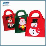 Natale poco costoso all'ingrosso del feltro del Non-Woven di prezzi per il sacchetto del regalo