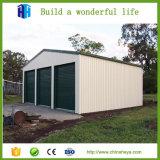 Здание стальной структуры быстро конструкции полуфабрикат гальванизированное светлое