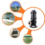 7.5kw fabbrica di vendita calda della Cina della pompa per acque luride del ghisa di aspirazione di 4 pollici