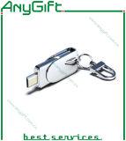 USB Stick del metallo con il laser Engraved Logo 06