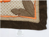 BabyのためのElephant Lion Design CoolのベッドSheet Patchwork Quilt