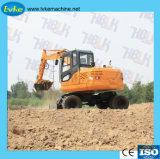 Piccolo prezzo dell'escavatore della rotella della Cina della benna di vendita calda