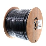 Mejor comunicación Cables UTP 23AWG 4 pares Twist CAT6 cable exterior