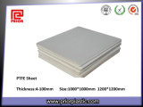 100%年のバージンPTFE Sheet、White ColorのTeflon Sheet