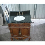 Beautiful Black Granite Vanity Tops pour salle de bain