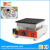 Matériel de Poffertjes de machine de gril de Poffertjes de 25 trous/de machine/restauration générateur de crêpe