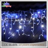 Parte exterior/LED comercial de casamento música Icicle decoração luz de Natal