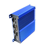 PC industrial sin ventilador mini PC 9-36V ordenador con procesador Atom / A bordo de 32 GB SSD