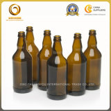 علويّة درجة [500مل] كهرمانيّة [كروون كب] زجاج يخمّر زجاجات (717)