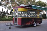Улицы кухни еды поставки таможен поставляя еду трейлер еды быстрой передвижной передвижной