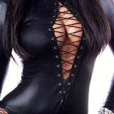 고품질 Lace-up 흑인 여성 내복