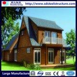 Boa casa Prefab clara projetada da construção de aço para a família