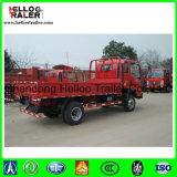 Sinotruk HOWO 5 톤 경트럭 4X2 확장되는 택시 빛 화물 트럭