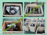 Shs-160f vorbildliche manuelle Erschütterung-Schweißgerät HDPE Rohr-Kolben-Schmelzverfahrens-Maschine