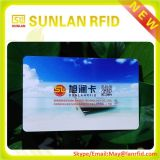 13.56MHz tarjeta inteligente plástica de la impresión RFID con la viruta de MIFARE