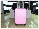 """紫色カラーABSトロリー荷物旅行荷物袋20 """" /24組の""""荷物セット"""
