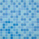 Mosaic poco costoso Tile Sheets Glass Mosaic per la piscina Glass Mosaic di Tile della piscina