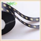 クリスマスまたは党または誕生日プレゼントの装飾のための印刷を用いるサテンのリボン