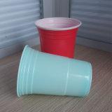 Copo de solo do vermelho americano plástico descartável direto da venda por atacado 16oz 450ml PP da fábrica para o partido com logotipo de Customed