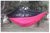 昆虫は旅行者のハンモックをハイキングするバグの純網を解放する