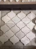 Mosaïque de marbre blanche de Carrare pour la salle de bains