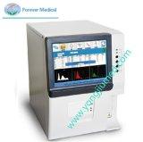 Gran pantalla LCD de 10,4 pulgadas a color de 3 partes el analizador de hematología