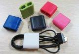 최신 판매 다채로운 Portable TPR 3 크기 이어폰 철사 관리 케이블 클립