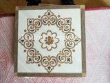 Azulejos de suelo esmaltados de cerámica de la inyección de tinta del nuevo diseño moderno