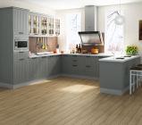 Gabinetes de cozinha cinzentos da cor do estilo americano