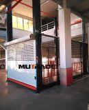La plataforma de elevación hidráulica de 4 postes elevador de coche certificado CE