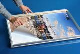 Caixa de luz ultra fina de alumínio da estrutura de imagem