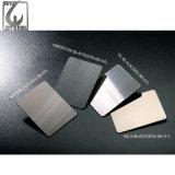 Enduit de couleur acier inox AISI 304 de la plaque de feuille