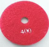 4 인치 갯솜 닦는 패드 2000 모래 타입-2 파랑
