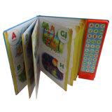 熱く健全な本の印刷、子供のハードカバー音楽ボードの本の声の記録可能なぬり絵帳