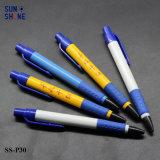 Prix compétitif de la publicité de gros stylo plume en plastique