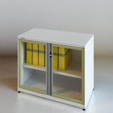 Новая конструкция РАСПАШНОЙ ДВЕРИ С ОСТЕКЛЕНИЕМ выдвижными ящиками (Си-SLG)