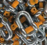 私達タイプ亜鉛によってめっきされるねじピン・チェーンG210の手錠