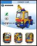 Конфеты Car Детский езды на сборку поворотного крана игры машины