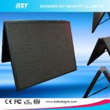 P6mm impermeable al aire libre a todo color de servicio delantera Pantalla LED para publicidad comercial