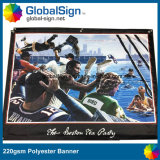 Знамена полиэфира Шанхай Globalsign горячие продавая напечатанные сублимацией (DSP06)