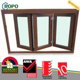 3배 유리 UPVC/PVC 플라스틱 접히는 유리제 Windows 및 문