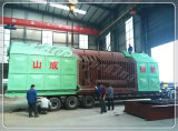 Singolo caldaia a vapore infornata carbone orizzontale del tubo di fuoco della griglia della catena del timpano con Ce ISO9001