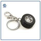 Metal gama alta Keychain do presente da promoção com mini pneumático