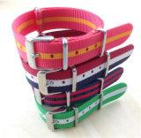 Correa de reloj de nylon de la OTAN de la alta calidad múltiple del color Yxl-601/correas de nylon de la venda del reloj hechas en China
