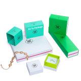 カスタムホイル熱い押すセットアップ堅いペーパーギフトの宝石類のPacakgingボックス