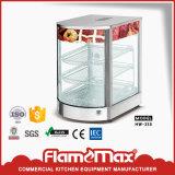 Hw-818 el alimento comercial calefacción Warmer vitrina