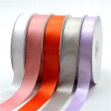 새로운 디자인 염색 기술 폴리에스테 다채로운 공단 리본