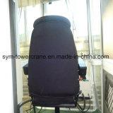 Assento de cadeira de cabina com joysticks de grua-torre